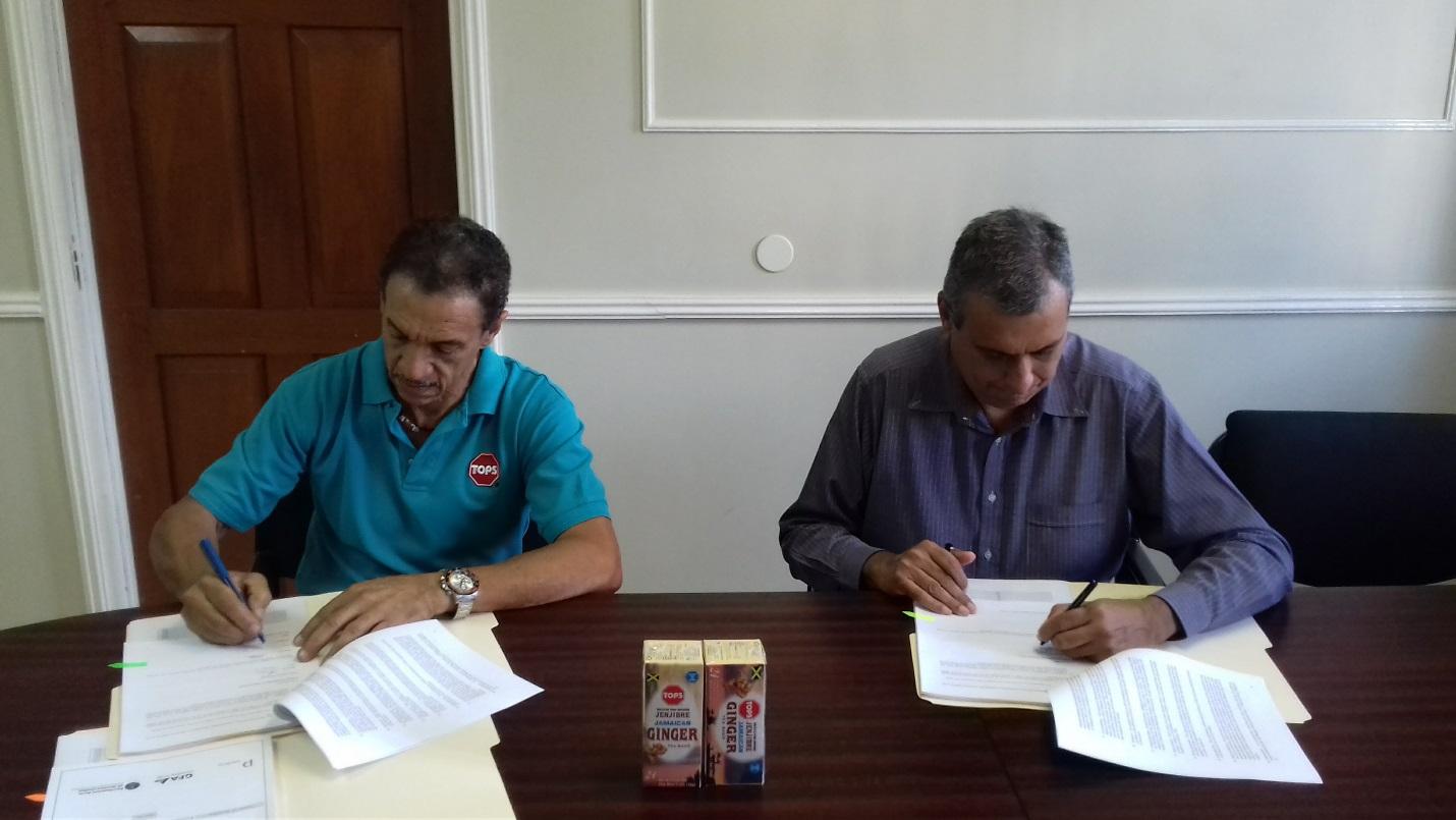 Grant Agreement Perishables Jamaica