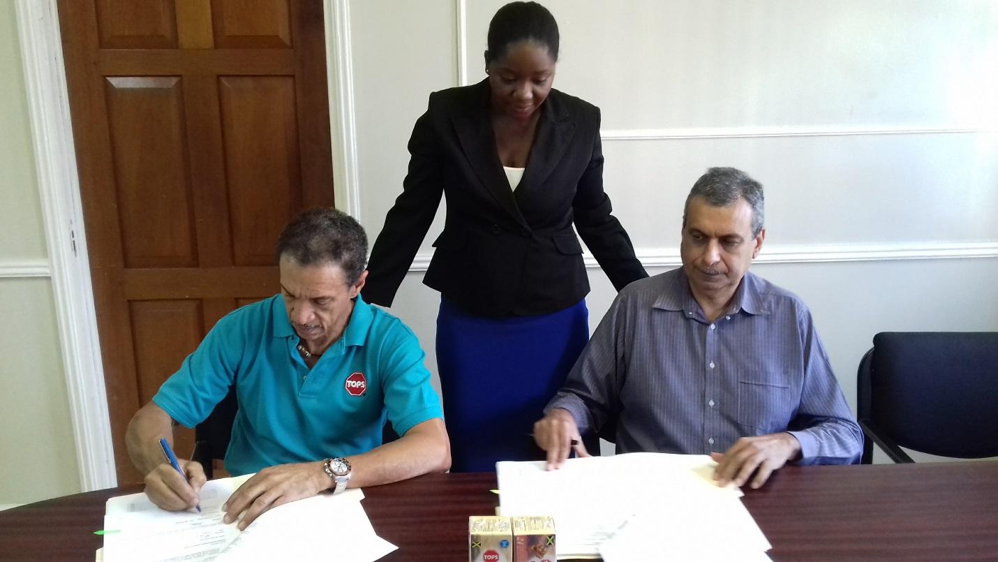 Grant Agreement Perishables Jamaica1