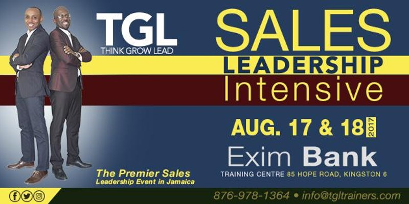 Sales Leadership Intensive Training | Business Events Ja