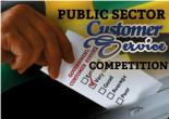 Public Sector Customer Service Competition